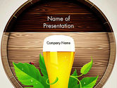Food & Beverage: Draft Beer PowerPoint Template #13366