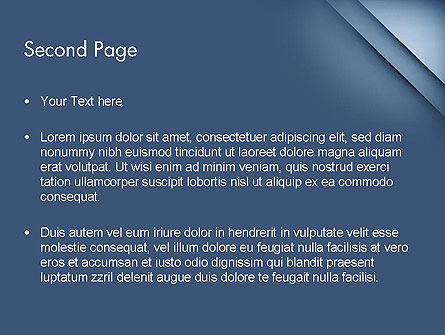 Business Abstract Background PowerPoint Template Slide 2