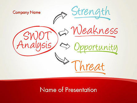 SWOT Analysis Strategy PowerPoint Template, 13370, Consulting — PoweredTemplate.com