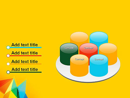 Vivid Polygonal Background PowerPoint Template Slide 12
