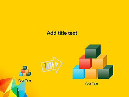 Vivid Polygonal Background PowerPoint Template Slide 13