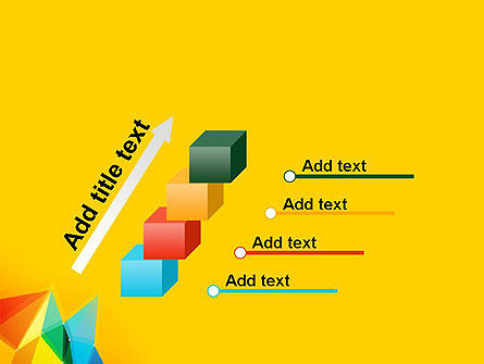 Vivid Polygonal Background PowerPoint Template Slide 14