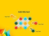 Vivid Polygonal Background PowerPoint Template#10