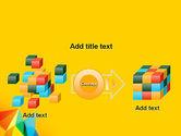 Vivid Polygonal Background PowerPoint Template#17