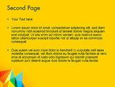 Vivid Polygonal Background PowerPoint Template#2