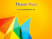 Vivid Polygonal Background PowerPoint Template#20