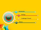 Vivid Polygonal Background PowerPoint Template#3