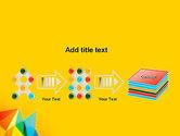 Vivid Polygonal Background PowerPoint Template#9
