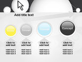 Bubble Network Abstract PowerPoint Template#13