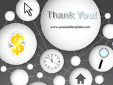 Bubble Network Abstract PowerPoint Template#20