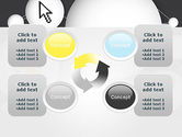 Bubble Network Abstract PowerPoint Template#9