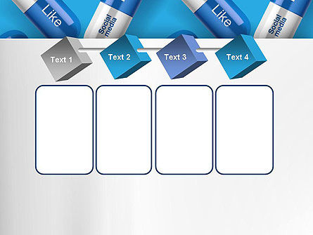 Social Pills PowerPoint Template Slide 18