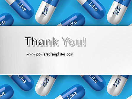 Social Pills PowerPoint Template Slide 20