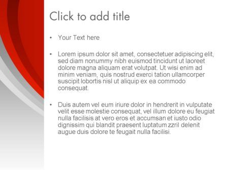 Red Abstract Quadrant PowerPoint Template, Slide 3, 13381, Abstract/Textures — PoweredTemplate.com