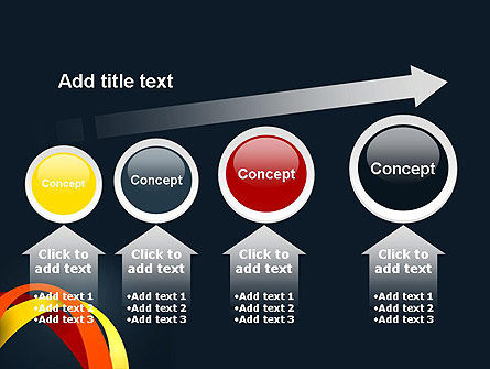 Abstract Vivid Arcs PowerPoint Template Slide 13