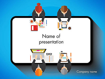Communication for Successful Project PowerPoint Template