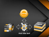 Abstract Right Directional Arrow PowerPoint Template#19