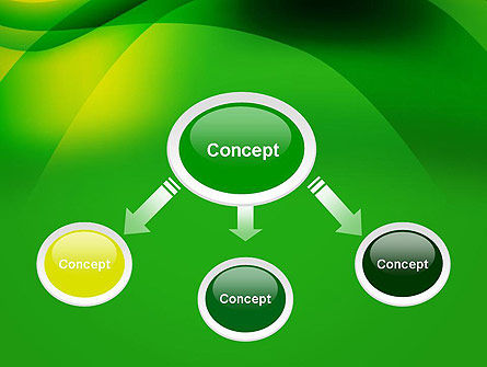 Green Abstract Surface PowerPoint Template Slide 4