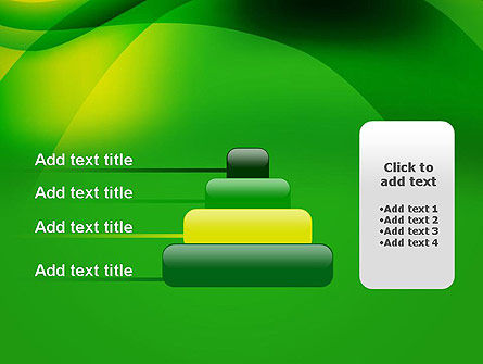 Green Abstract Surface PowerPoint Template Slide 8
