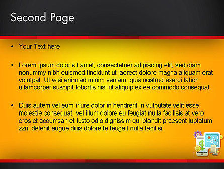 Internet Banking PowerPoint Template, Slide 2, 13388, Financial/Accounting — PoweredTemplate.com