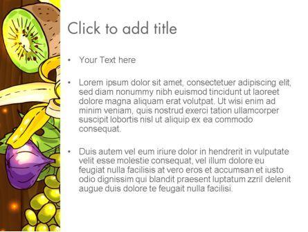 Fruits and Vegetables Diet PowerPoint Template, Slide 3, 13390, Food & Beverage — PoweredTemplate.com