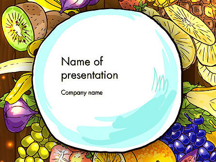 Fruits and Vegetables Diet PowerPoint Template