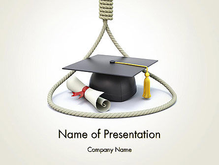 Education & Training: Graduates Wanted PowerPoint Template #13391