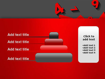 Red Numbers PowerPoint Template Slide 8