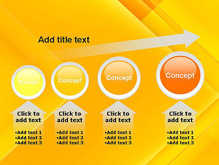 Intersecting Orange Squares PowerPoint Template Slide 13