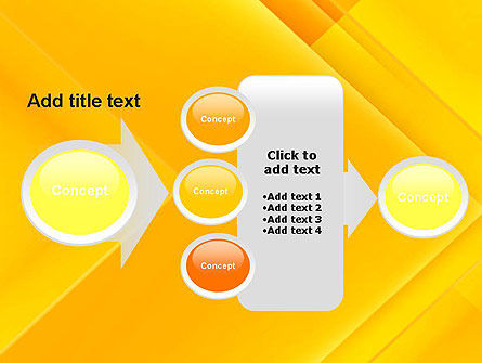Intersecting Orange Squares PowerPoint Template Slide 17