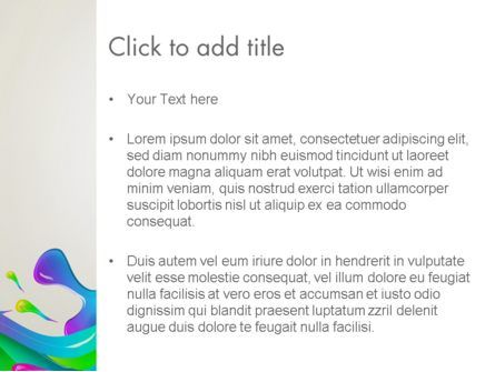 Color Blob PowerPoint Template, Slide 3, 13399, Art & Entertainment — PoweredTemplate.com