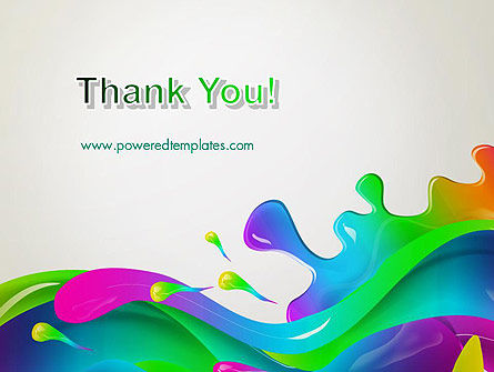 Color Blob PowerPoint Template Slide 20