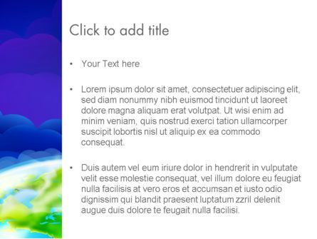 Outer Space Abstract PowerPoint Template, Slide 3, 13403, Global — PoweredTemplate.com