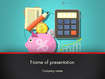 Accounting Software PowerPoint Template, 13407, Financial/Accounting — PoweredTemplate.com