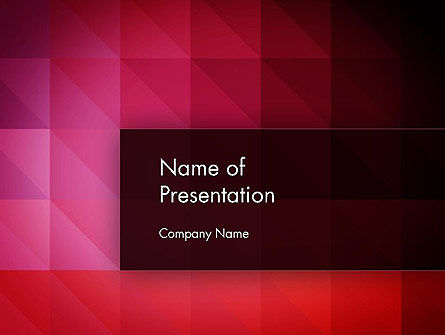 Symmetrical Abstract PowerPoint Template