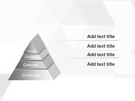 Subtle Triangles PowerPoint Template Slide 12