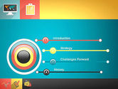 Concept with Flat Icons PowerPoint Template#3