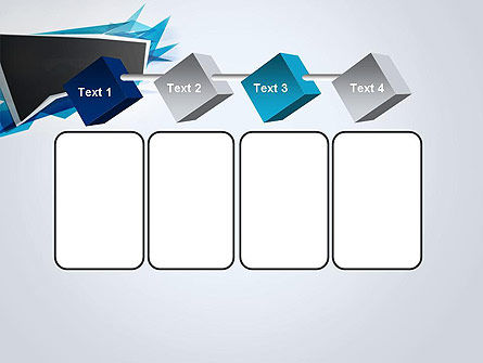 Sharp Edges Abstract PowerPoint Template Slide 18