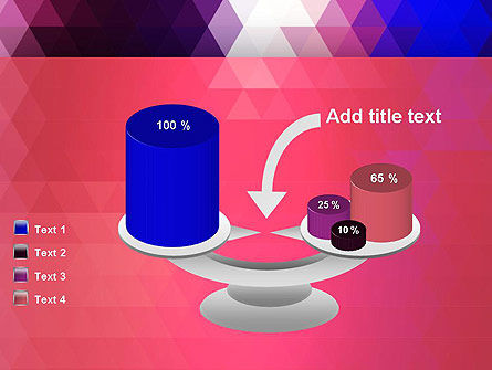 Triangle Subtle Pattern PowerPoint Template Slide 10