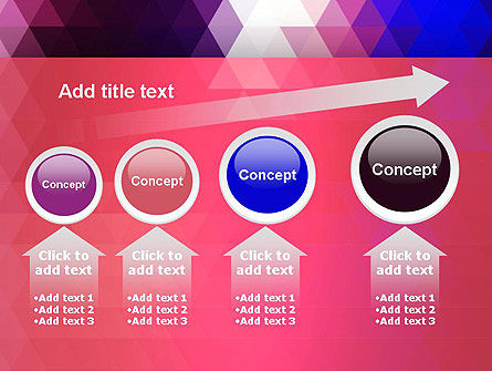 Triangle Subtle Pattern PowerPoint Template Slide 13