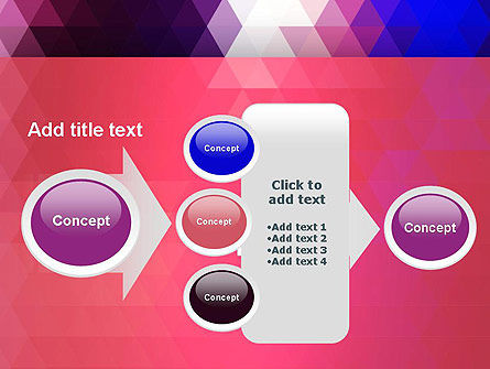 Triangle Subtle Pattern PowerPoint Template Slide 17