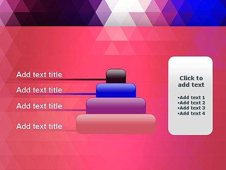 Triangle Subtle Pattern PowerPoint Template Slide 8