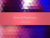 Abstract/Textures: Triangle Subtle Pattern PowerPoint Template #13419