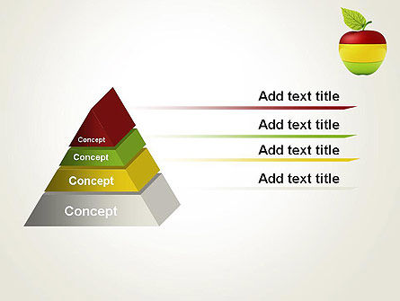 Multi Colored Apple PowerPoint Template Slide 12