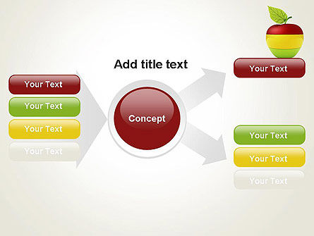 Multi Colored Apple PowerPoint Template Slide 14