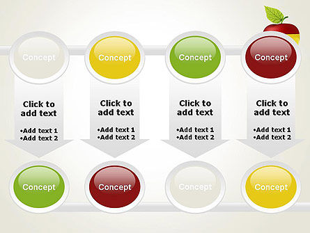 Multi Colored Apple PowerPoint Template Slide 18