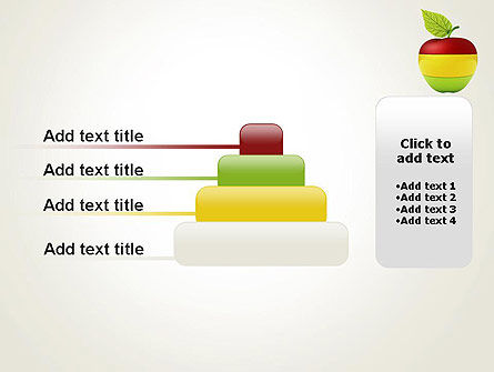 Multi Colored Apple PowerPoint Template Slide 8