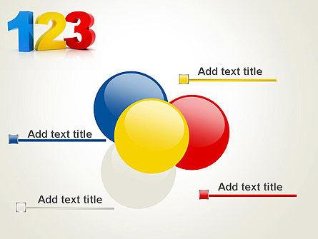 Numbers 123 PowerPoint Template Slide 10