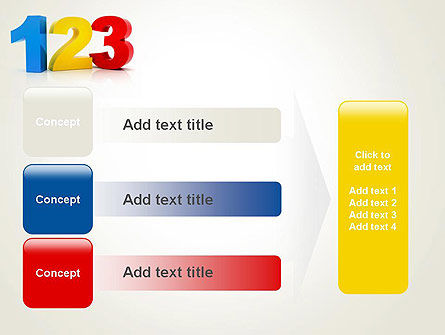 Numbers 123 PowerPoint Template Slide 12