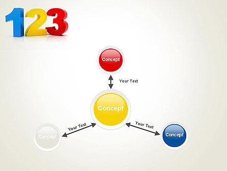 Numbers 123 PowerPoint Template Slide 14